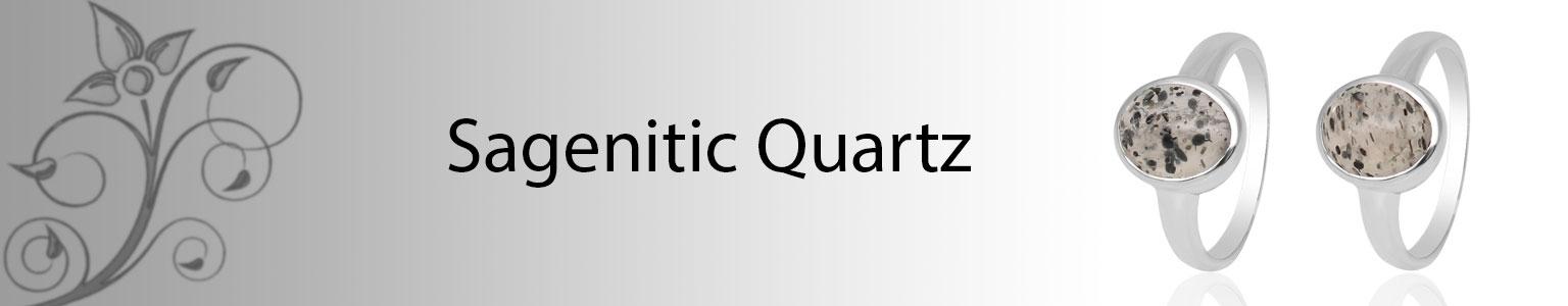 Sagenitic Quartz