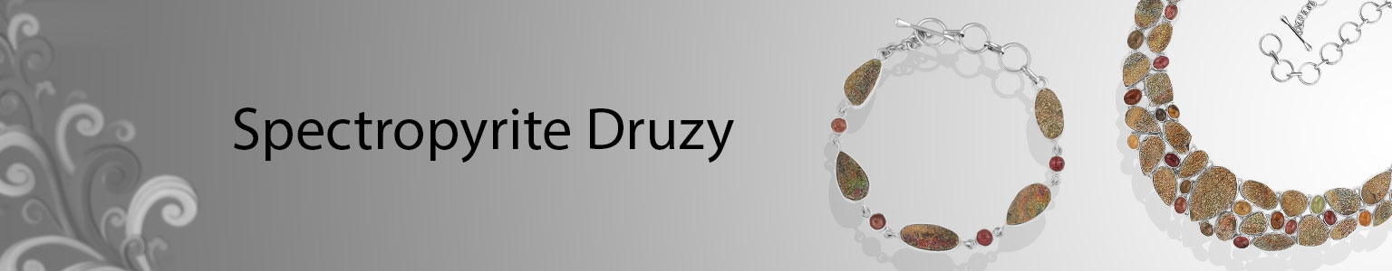 Spectropyrite Druzy