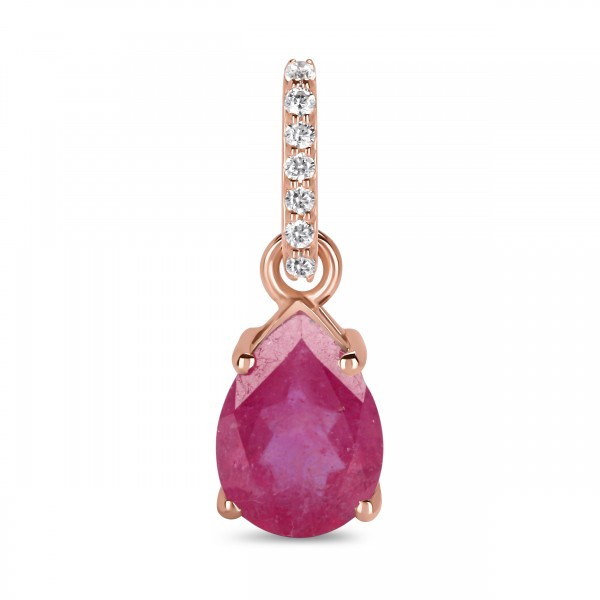 Ruby Pendant-July Birthstone RBY-RP-76