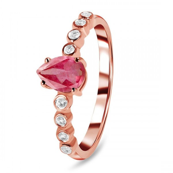 Ruby Ring-July Birthstone RBY-RR-419D