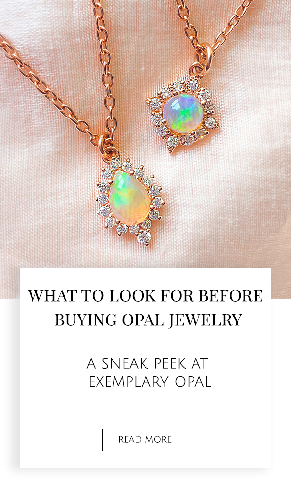 What To Look For When Buying Opal Jewelry : A sneak peek at exemplary opal