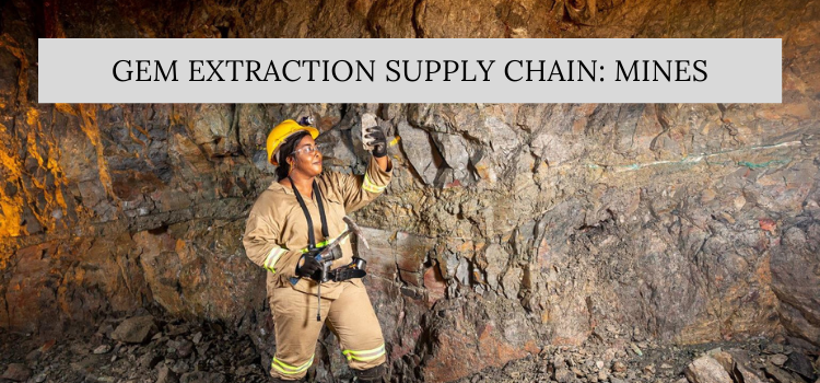 Gem Extraction Supply Chain: Mines