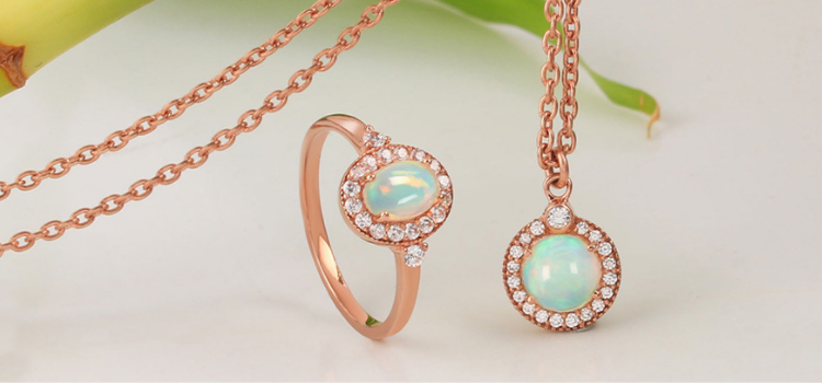Wholesale opal jewelry