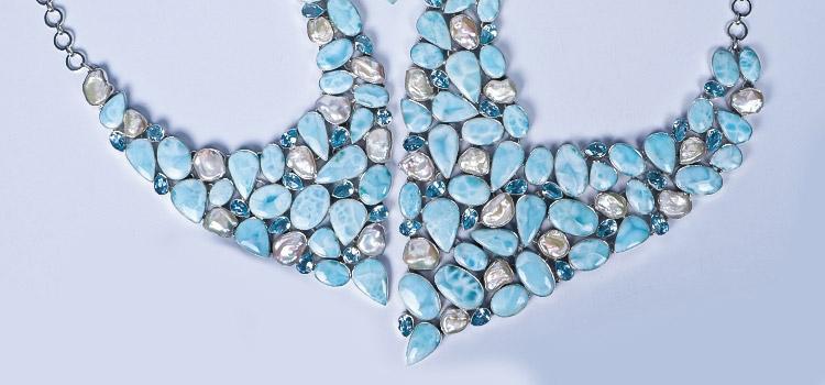 Larimar Necklaces