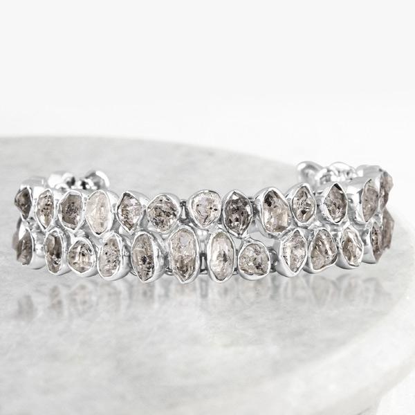 Herkimer Diamond Rough Bracelet