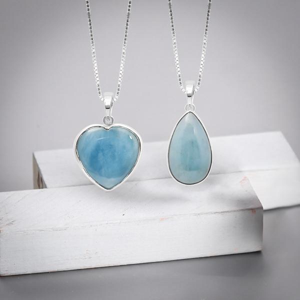 Aquamarine Stone Pendant