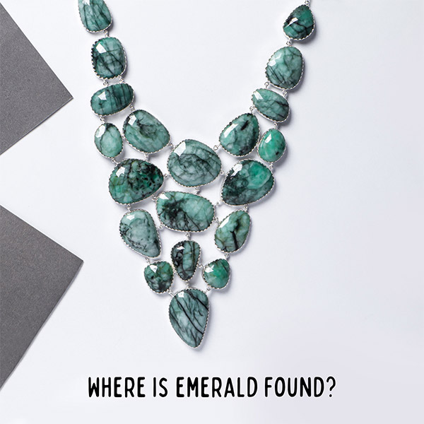 Where is emerald found