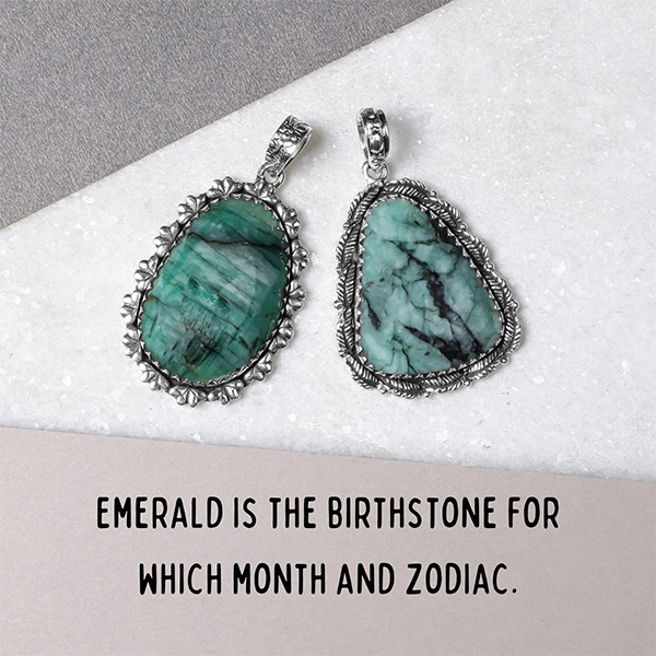 Emerald is the birthstone for which month and zodiac