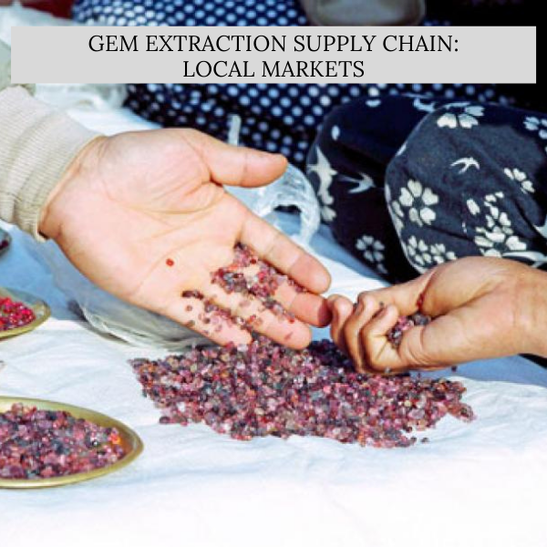 Gem Extraction Supply Chain: Local Markets