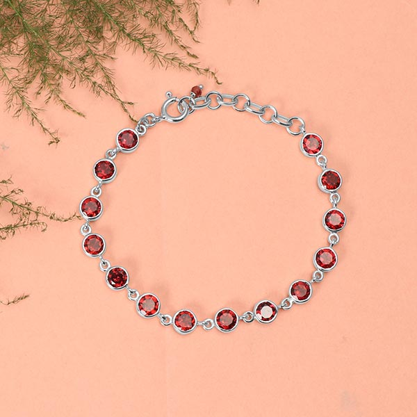 Garnet bracelets