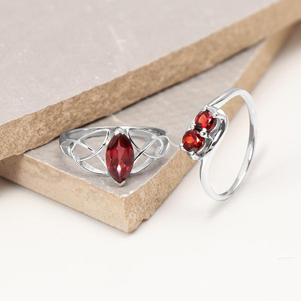 Wholesale garnet jewelry