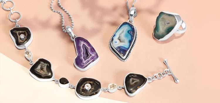Agate Stone Jewelry