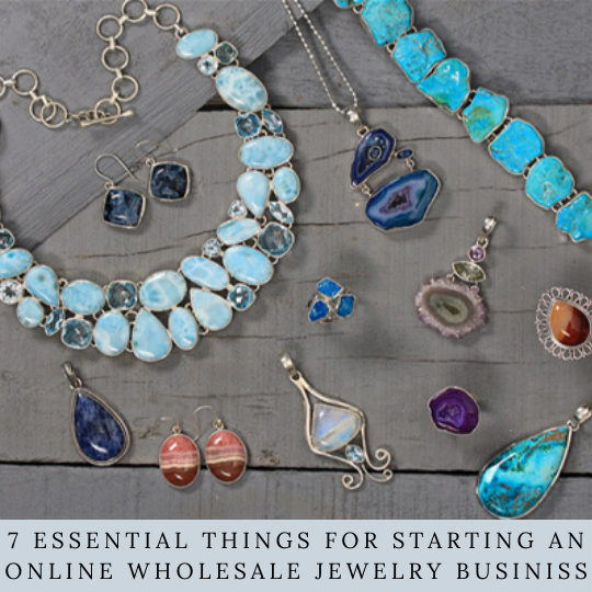 Essentials for starting an online jewelry business