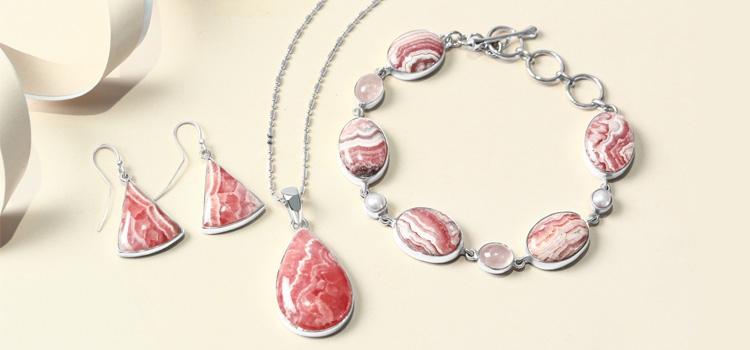 Rhodochrosite Jewelry